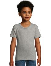 Kids` Round Neck Short-Sleeve T-Shirt Milo